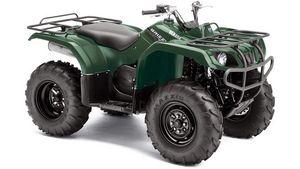 Yamaha YFM350 Grizzly 2WD - Green