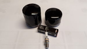 Logic Flail and Rotary Mower Oil Filters and Spark Plugs -