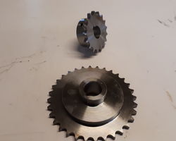 Logic Sweeper/Collector Engine and Spindle Sprockets