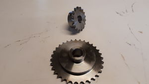 Logic Sweeper/Collector Engine and Spindle Sprockets -