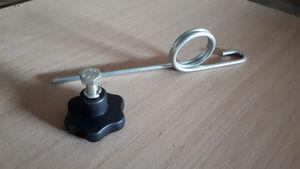 Tine for MSP sweeper tinebar and handwheel clamp -
