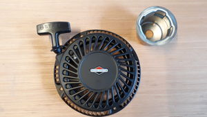 Recoil starter complete for Logic MFG series flail mowers -