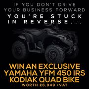 Win A New Yamaha YFM450IRS Kodiak with Agri-LLoyd