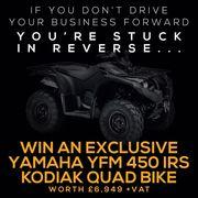 Win A New Yamaha YFM450IRS Kodiak with Agri-LLoyd