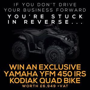 Win A New Yamaha YFM450IRS Kodiak with Agri-LLoyd -