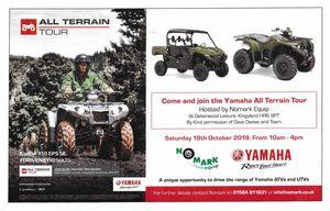 The Yamaha All Terrain Tour  -
