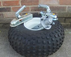 Wheels,axles & couplings