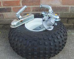 Wheels,axles & couplings