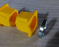 Swivel Hitch Thrust washer and Yellow bushes