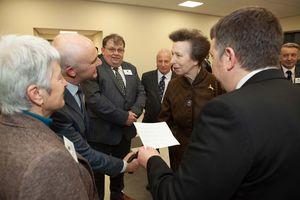 Meeting HRH Princess Anne -