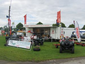 Nomark's Show Dates for 2013 - Nomark at the Three Counties Show