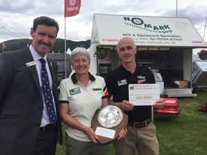 Nomark gets Gold at Malvern -