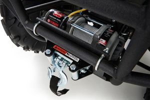 Winches are standard on all new Yamaha Utility ATVs -